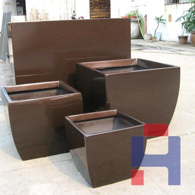 西式方形组合花箱