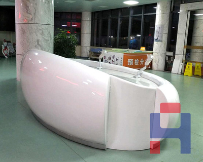 深圳玻璃钢前台多少钱