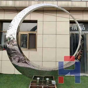 创意不锈钢雕塑造型 (136)