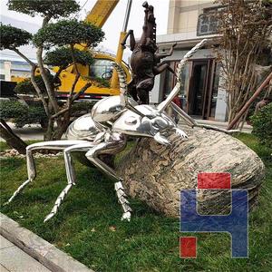 创意不锈钢雕塑造型 (133)