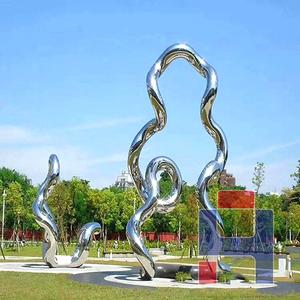 创意不锈钢雕塑造型 (141)