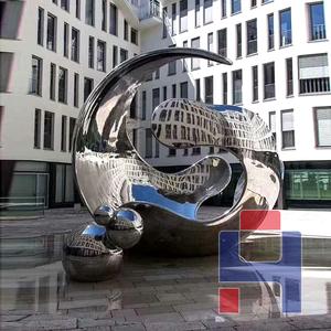 创意不锈钢雕塑造型 (146)