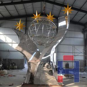 创意不锈钢雕塑造型 (149)