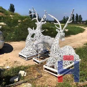 创意不锈钢雕塑造型 (148)