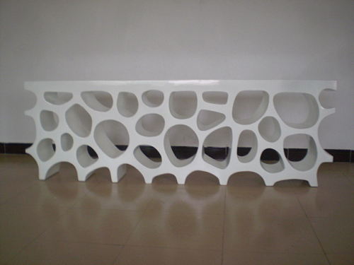 玻璃钢艺术架定制