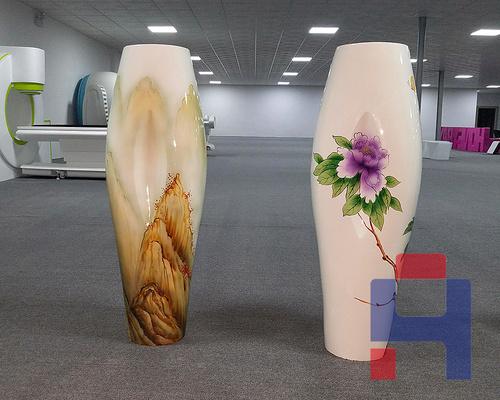 玻璃钢装饰花盆