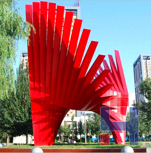 创意不锈钢雕塑造型 (5)