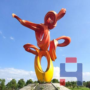 创意不锈钢雕塑造型 (7)