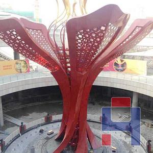 不锈钢大型景观雕塑