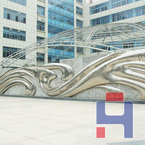 不锈钢大型艺术雕塑