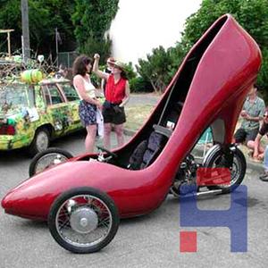 高跟鞋车壳造型