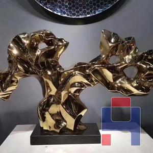 不锈钢镜面电镀雕塑