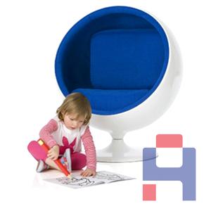 软包儿童球椅