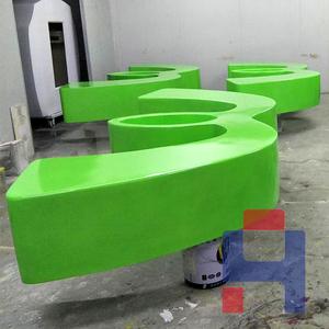 商场花盆装饰坐凳