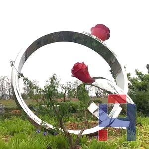 创意不锈钢雕塑造型 (151)