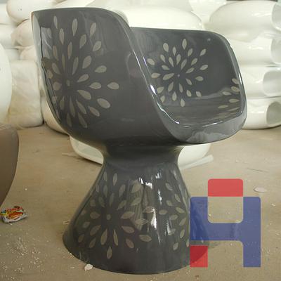 现代花纹休闲椅