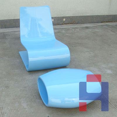 现代S型休闲躺椅