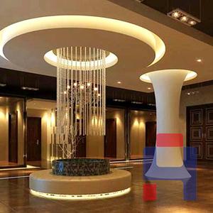 酒店内部玻璃钢装饰