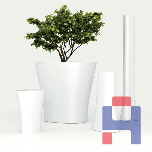 商场艺术组合花盆
